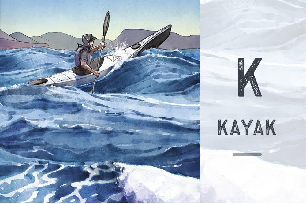 K pour Kayak