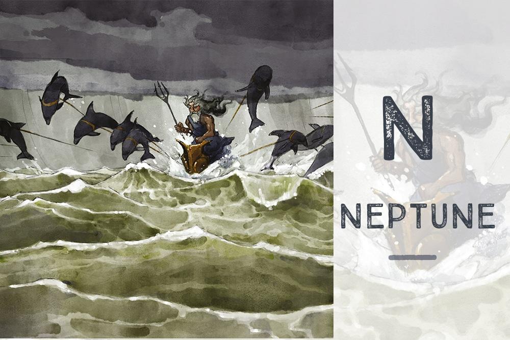 N pour Neptune