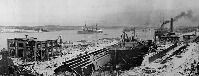 L'explosion d'Halifax : renaître de ses cendres