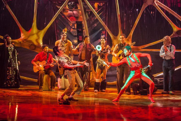 Un artiste acadien au Cirque du Soleil