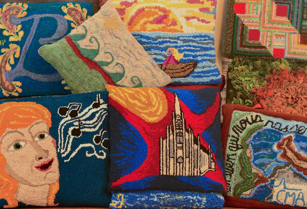 Du tapis hooké pour les 200 ans de l'Eglise de Barachois