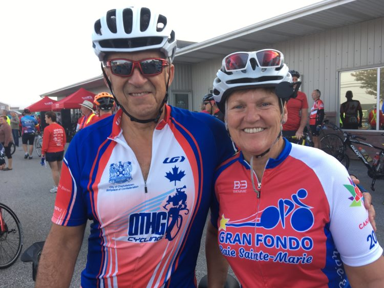 Le Gran Fondo, la randonnée cycliste de la Baie Sainte-Marie