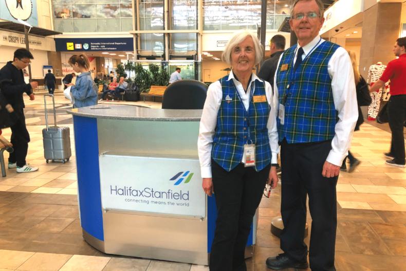 Les anges de l'aéroport Halifax Stanfield