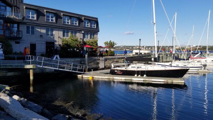 Une balade à Halifax – au bord de l'eau