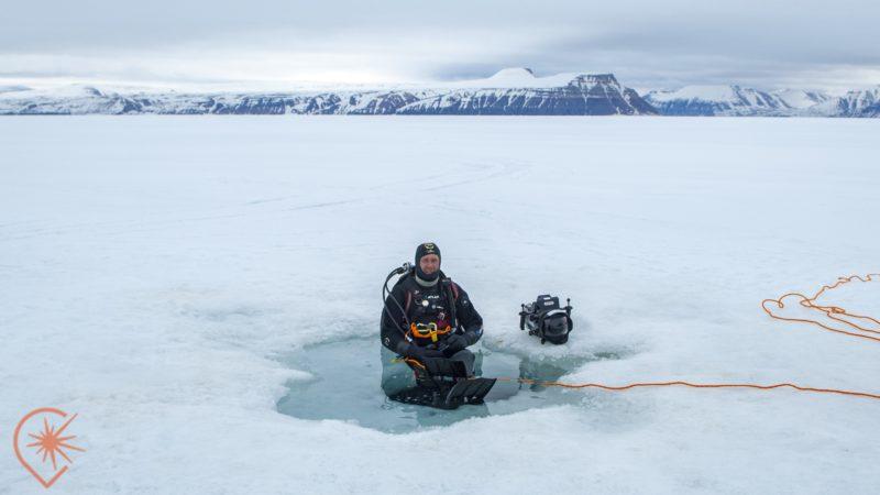 Mario Cyr, cameraman-plongeur de l'extrême